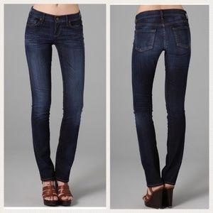 Citizens Of Humanity Ava Straight Leg Dark Jeans